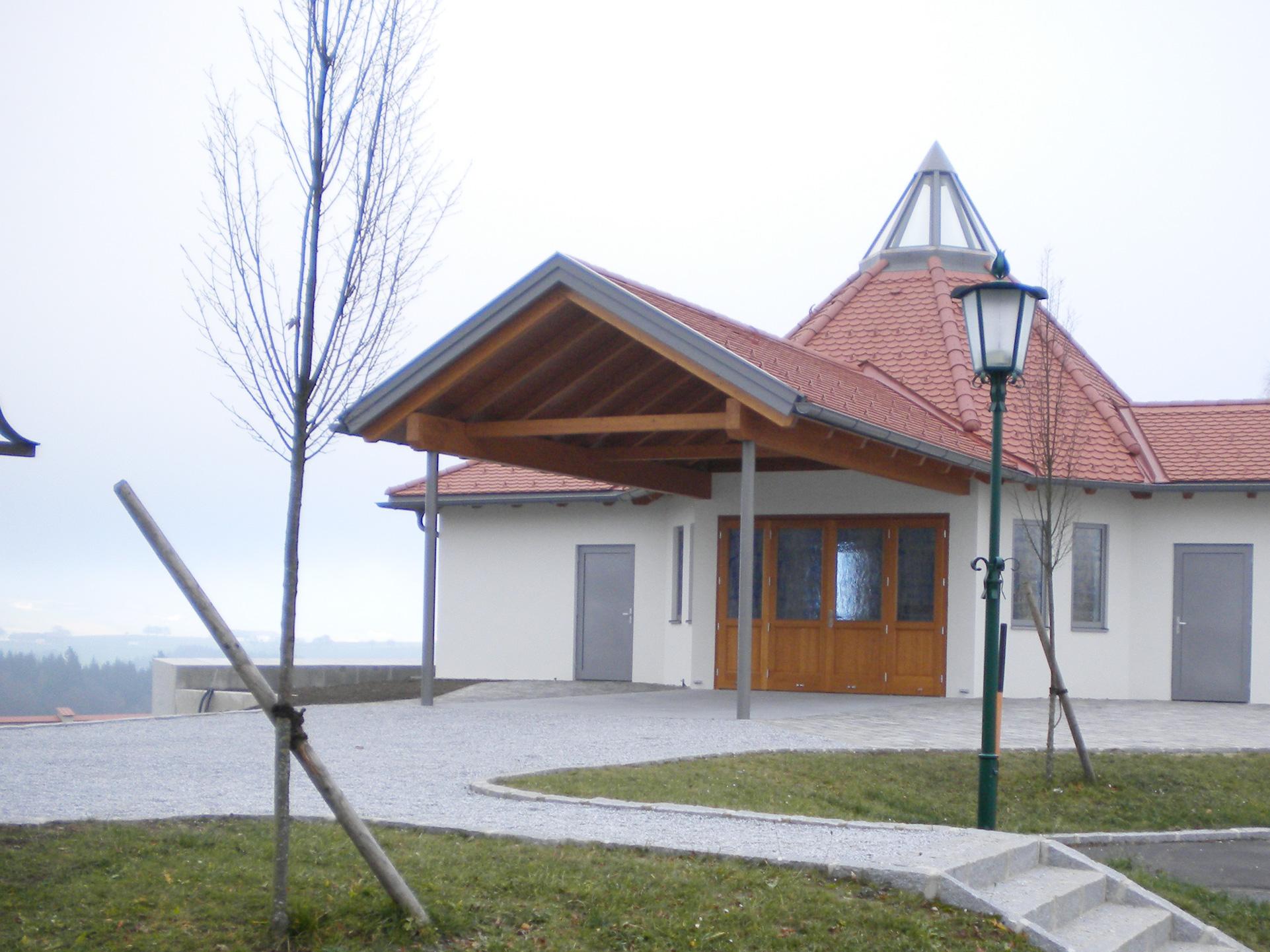 Aufbahrungsgebäude Nöchling