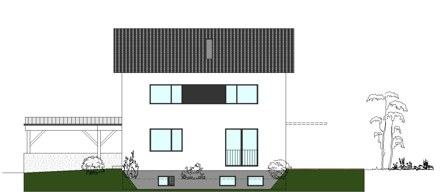 Einfamilienhaus CF - Neubau