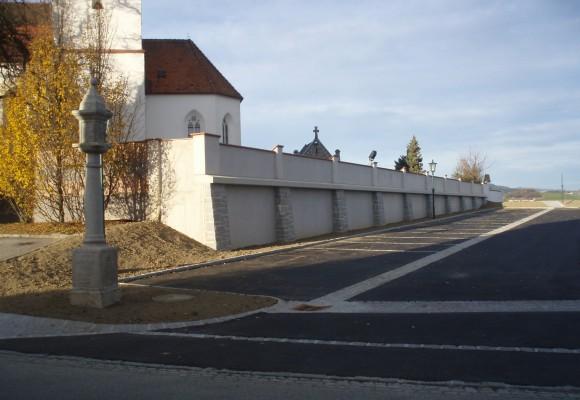 Parkplatzanlage Nöchling - Projekte