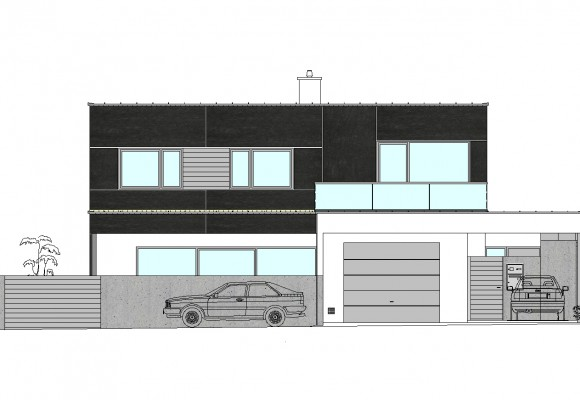 Einfamilienhaus PM - Neubau - Projekte