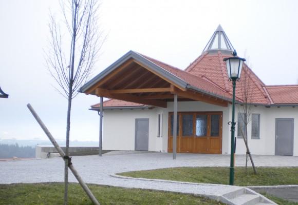 Aufbahrungsgebäude Nöchling - Projekte