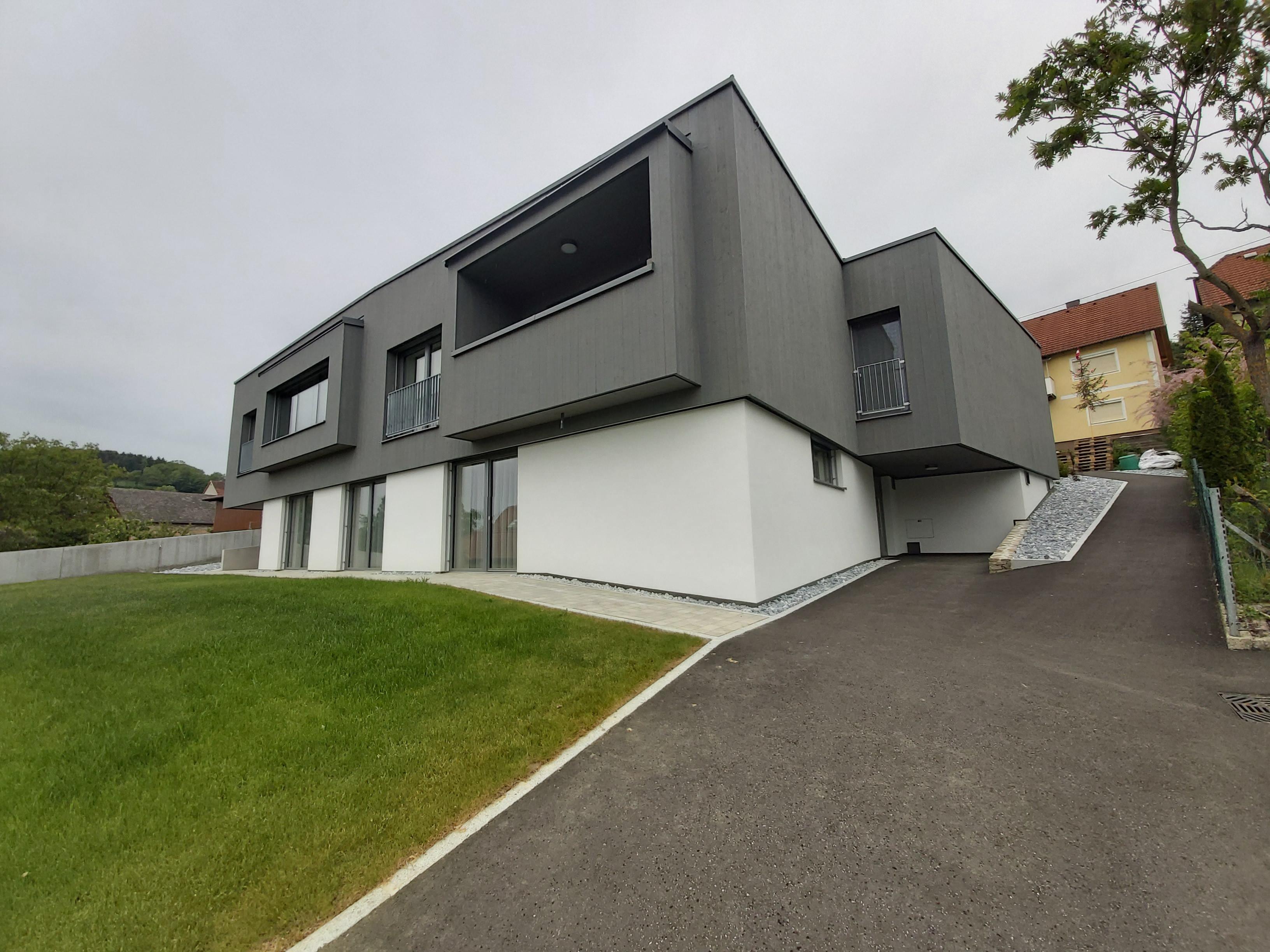 Zweifamilienhaus - VJ - Neubau